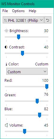 WS Monitor Controls:500